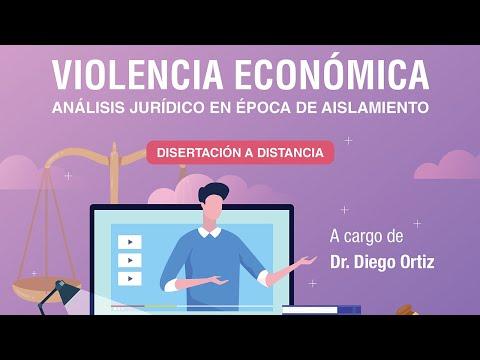 """VIOLENCIA ECONÓMICA """"Análisis jurídico en época de aislamiento"""""""
