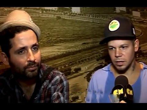 Calle 13 video Entrevista - Visita Argentina - 2012