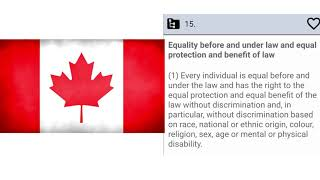 Charter of Rights and Freedoms? Think again…