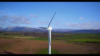 Moorside Farm Drigg Wind Turbine Drone Inspection Lake District Cumbria
