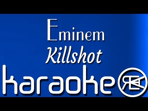 Eminem - Killshot | Karaoke Instrumental Lyrics (eminem disses mgk)