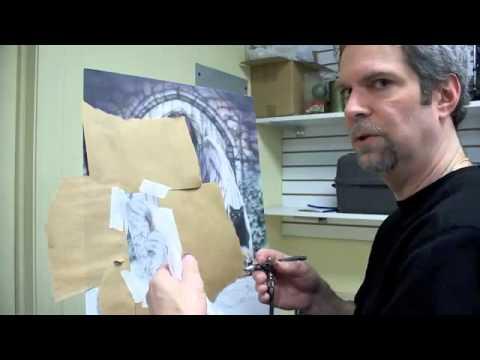 Airbrush Tutorial - Snakeskin 1 - смотреть онлайн на Hah Life