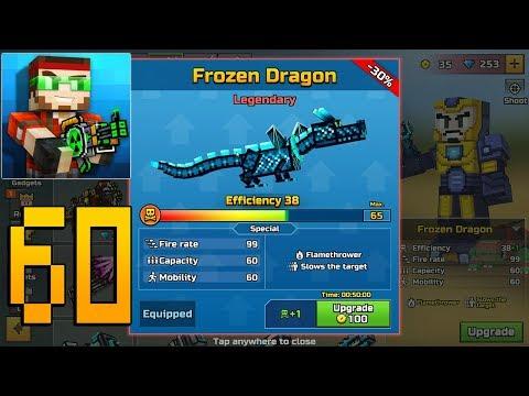 Pixel Gun 3D - Gameplay Walkthrough Part 60 - Frozen Dragon
