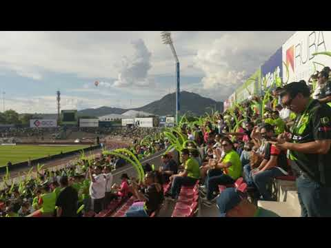 """Primer recibimiento a FC Juárez en Primera"" Barra: Barra El Kartel • Club: FC Juárez"