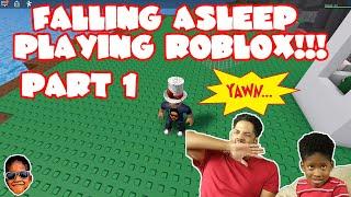 Literally Falling Asleep Playing Roblox Natural Disaster - Part 1