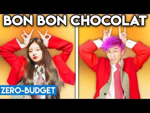 K-POP WITH ZERO BUDGET! (EVERGLOW - Bon Bon Chocolat)