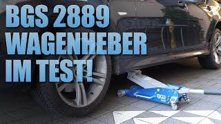 Mein neuer Wagenheber BGS Wagenheber 2889 im Test | 83metoo