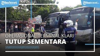 Terminal Klari Karawang Tutup 6-17 Mei 2021, Tidak Ada Bus Yang Beroperasi