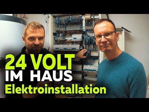 Hausbau mit 24 Volt LED-Beleuchtung | Elektroinstallation und Trafos | Smartest Home - Folge 24
