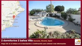 preview picture of video '2 dormitorios 2 baños Villa se Vende en Quesada, Alicante, Spain'