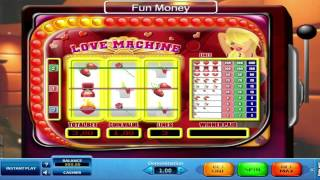 Love Machine™ slot by Skill On Net video game preview