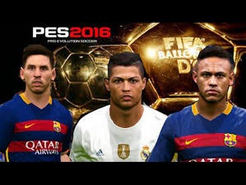 Pes 2016 - Top Free kick Messi, Ronaldo,Neymar