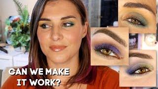 Blue Eyeshadow For Hazel Eyes? I Wasnt So Sure... | Bailey B.