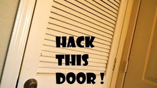 Locked Closet Door Hack