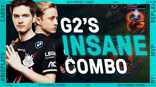 League Mixtape : « G2's INSANE Sion Senna Combo »