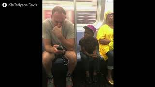 Heartwarming Moment Captured On Busy NYC Subway