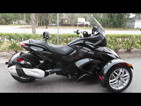 2015 Can-Am Spyder® ST-S SM5 in Sanford, Florida - Video 1