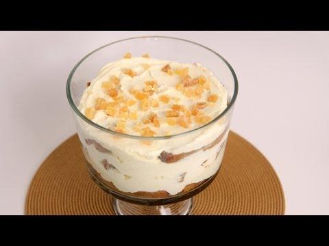 Gingerbread Tiramisu Trifle Recipe – Laura Vitale – Laura in the Kitchen Episode 511