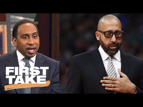 Stephen A. Smith calls David Fizdale firing from Grizzlies 'B.S.'   First Take   ESPN