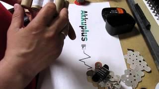 Akkureparatur - Zellentausch - Fein 92604069022 - 14,4 Volt Akku