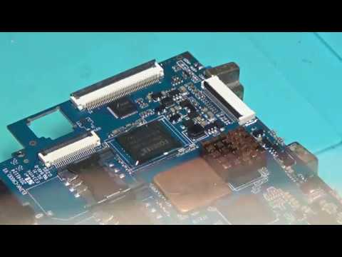 ☆ Замена eMMC на планшете Irbis TZ18. Replacing eMMC on Irbis TZ18 Tablet ☆