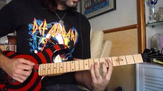 Def Leppard- Run Riot(cover) by Stef