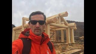 Баня Post and Beam 50 м2 из кедра большого диаметра | Эксклюзивные кедровые дома | izkedradom.ru