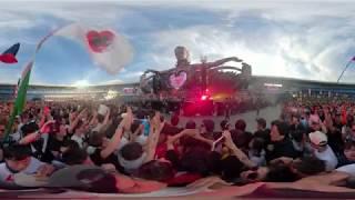 【360°】EDC Japan 2018 Alan Walker - ignite - guest:Julie Bergan