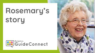 How GuideConnect Helps - Rosemary's Story at Kent Association for the Blind