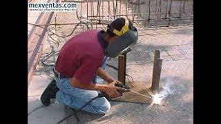 como hacer una maquina de soldar casera completo/ How to make a homemade welding machine