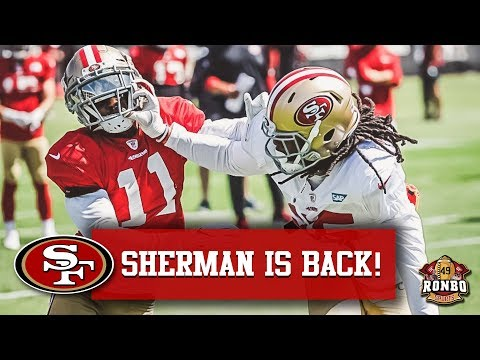 49ers Training Camp Day 4 - Richard Sherman Sets Tone As Defense Dominates