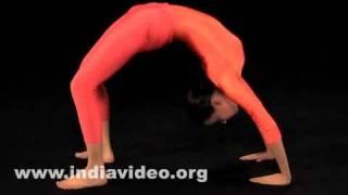 Chakrasana (The wheel pose)
