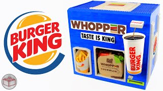 LEGO Burger King WHOPPER Meal Machine | French Fries & Coca Cola