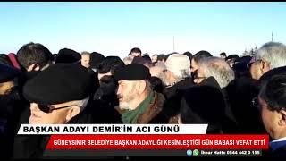 Başkan adayı Demir'in acı günü
