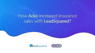 Vidéo de LeadSquared