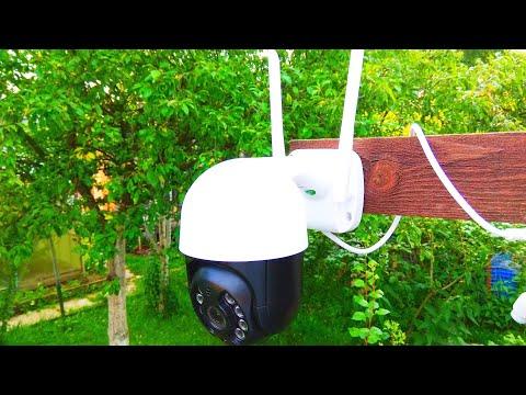 Wifi поворотная камера видеонаблюдения BESDER / Wifi PTZ CCTV camera BESDER