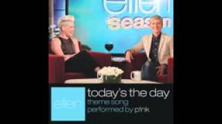P!nk   Today's The Day Audio   YouTube