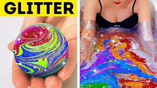 36 AMAZING GLITTER IDEAS TO MAKE YOU SHINE || LITERALLY