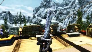 Berserker Sword & Witchers Silver Sword Skyrim Mod