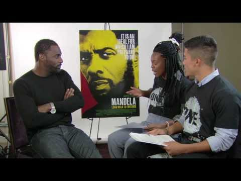 Idris Elba and Naomie Harris answers ONE member questions about Nelson Mandela