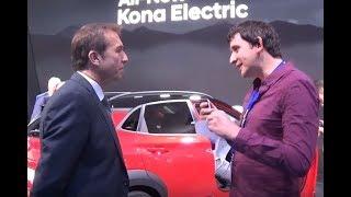 Nexo, Kona, Ioniq : entretien avec Hyundai à Genève