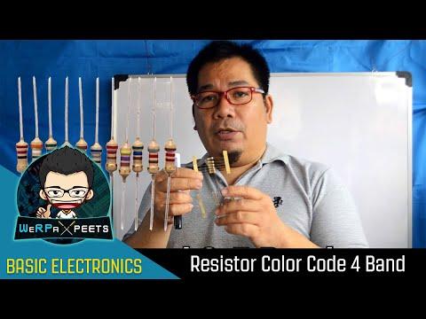Basic Electronics | Resistor Color Code 4 Band