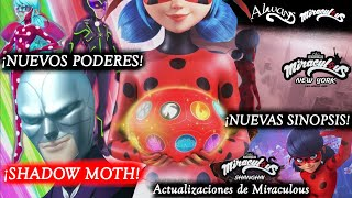 ¡SHADOW MOTH Y NUEVOS PODERES! | Actualizaciones de Miraculous | Miraculous LadyBug | HD