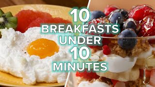 Breakfasts In Under 10 Minutes