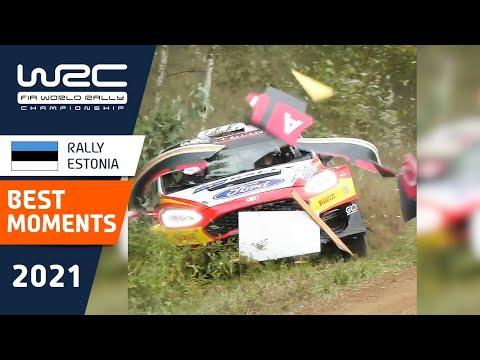 WRC 2021 第7戦ラリー・エストニア 過去のハイライト動画