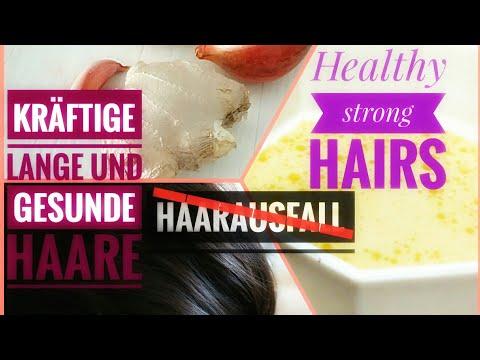 Wie den Haarausfall nach den Hormonen anzuhalten