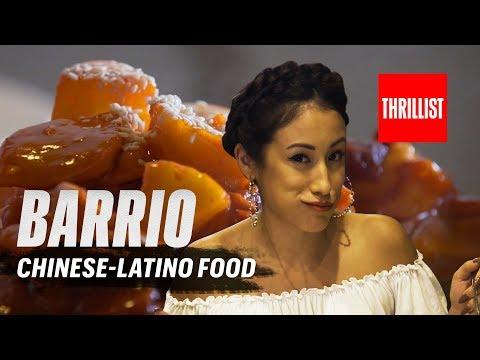 Chinese Latino Fusion || Barrio USA