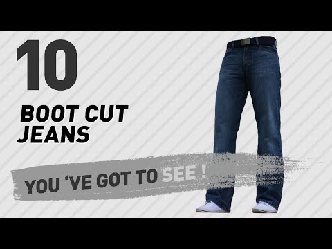 Boot Cut Jeans For Men // UK New & Popular 2017