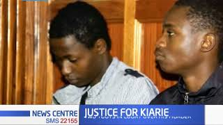 Justice for Kiarie: Two touts in court over Kiarie