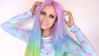 Girls Multi-Coloured Mermaid Hair Takes Internet By Storm